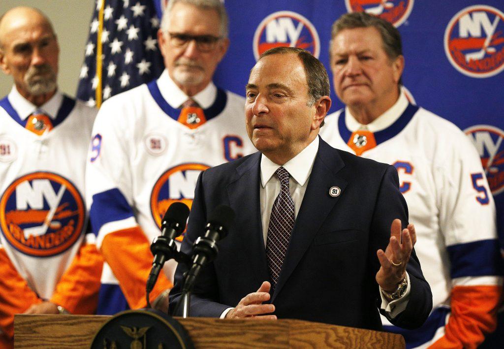 NHL commish Gary Bettman not contemplating season cancellation