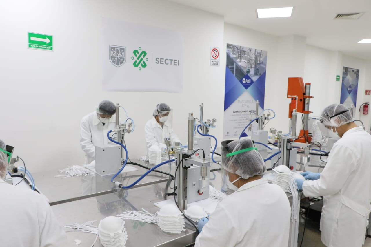 Mexico amazes in the battle against Covid-19 with graphene as a secret weapon