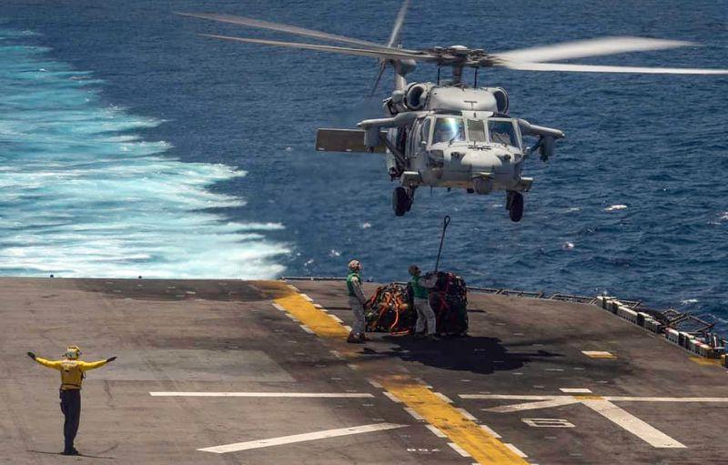 Military identifies sailor, Marines presumed dead in training accident off California coast