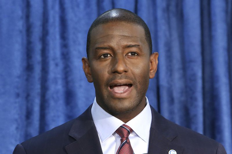 Andrew Gillum says he identifies as bisexual in first TV interview since found in hotel with male escort