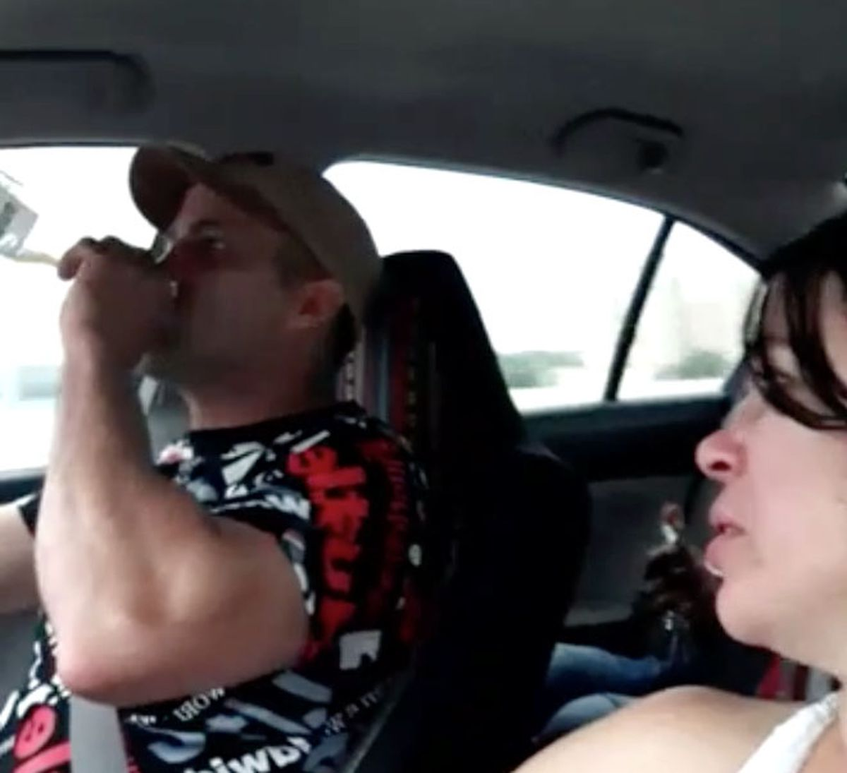Texas man shares video drinking behind wheel moments before deadly car crash