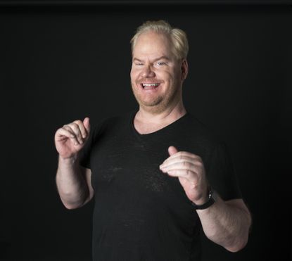 Jim Gaffigan is coping with Election Day stress by eating… a lot