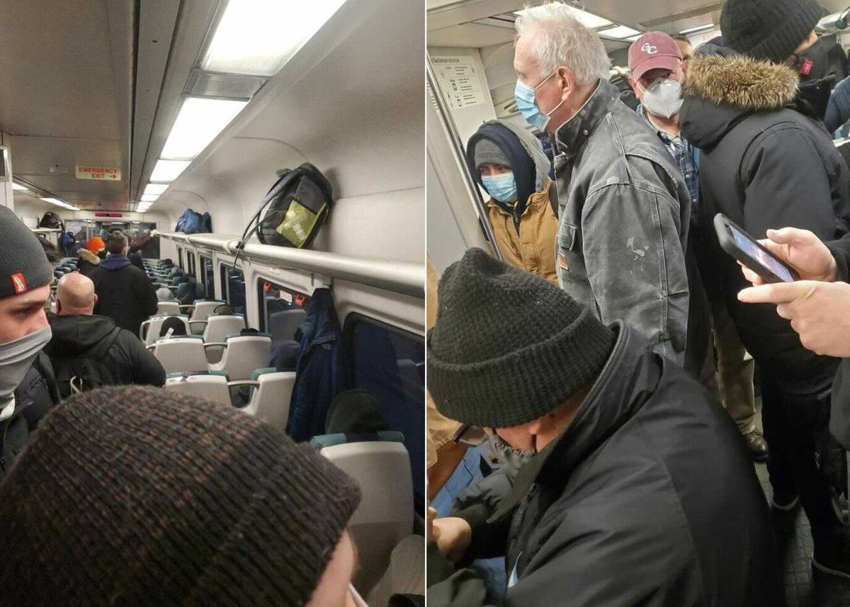 LIRR sees packed commutes as MTA slashes service on railroad