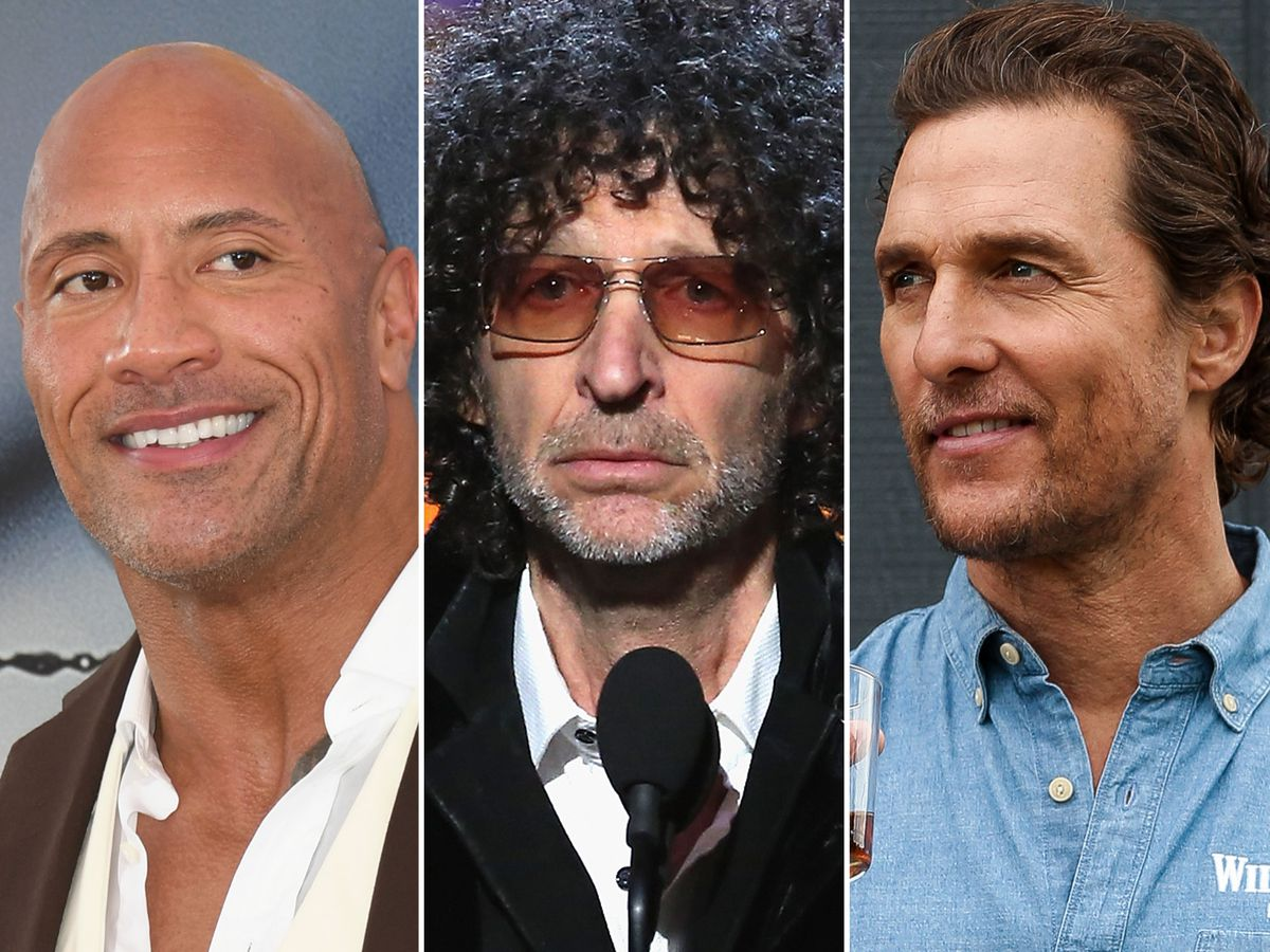 Howard Stern urges The Rock and Matthew McConaughey to curb their political ambitions