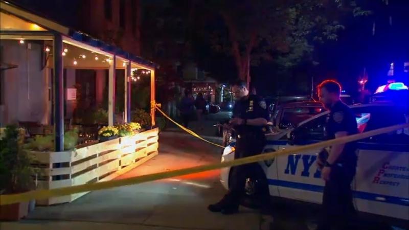 2 people shot outside restaurant in Brooklyn