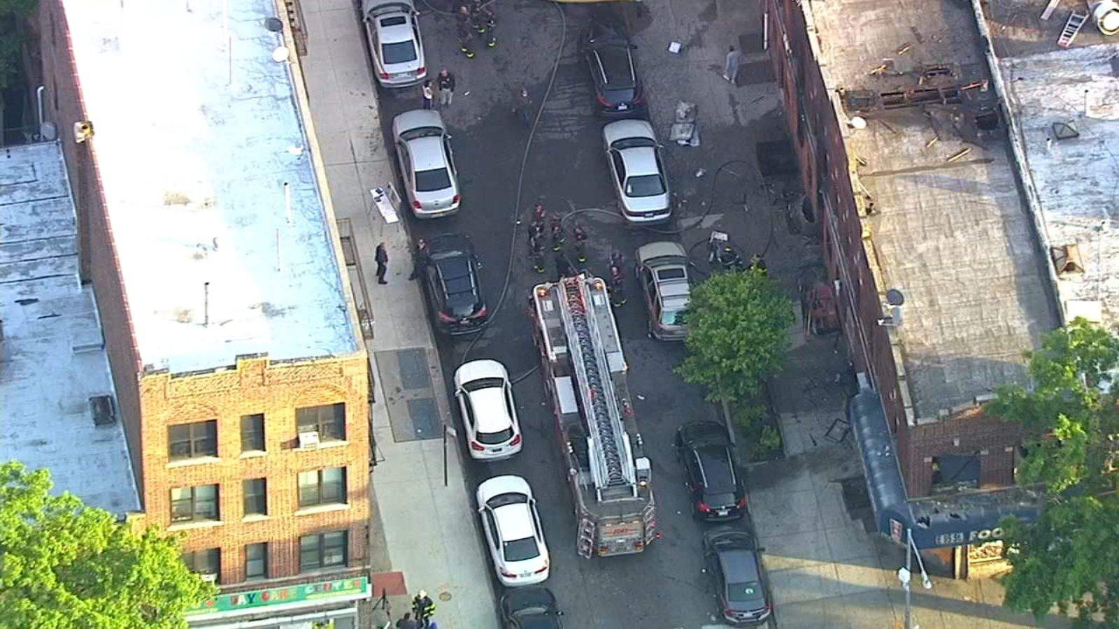 Man arrested in connection with Brooklyn fire that injured 8, charged with assault