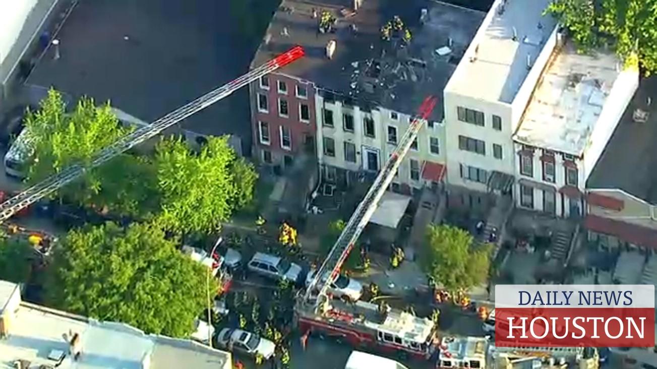 Teen dead in fast-moving house fire in Brooklyn
