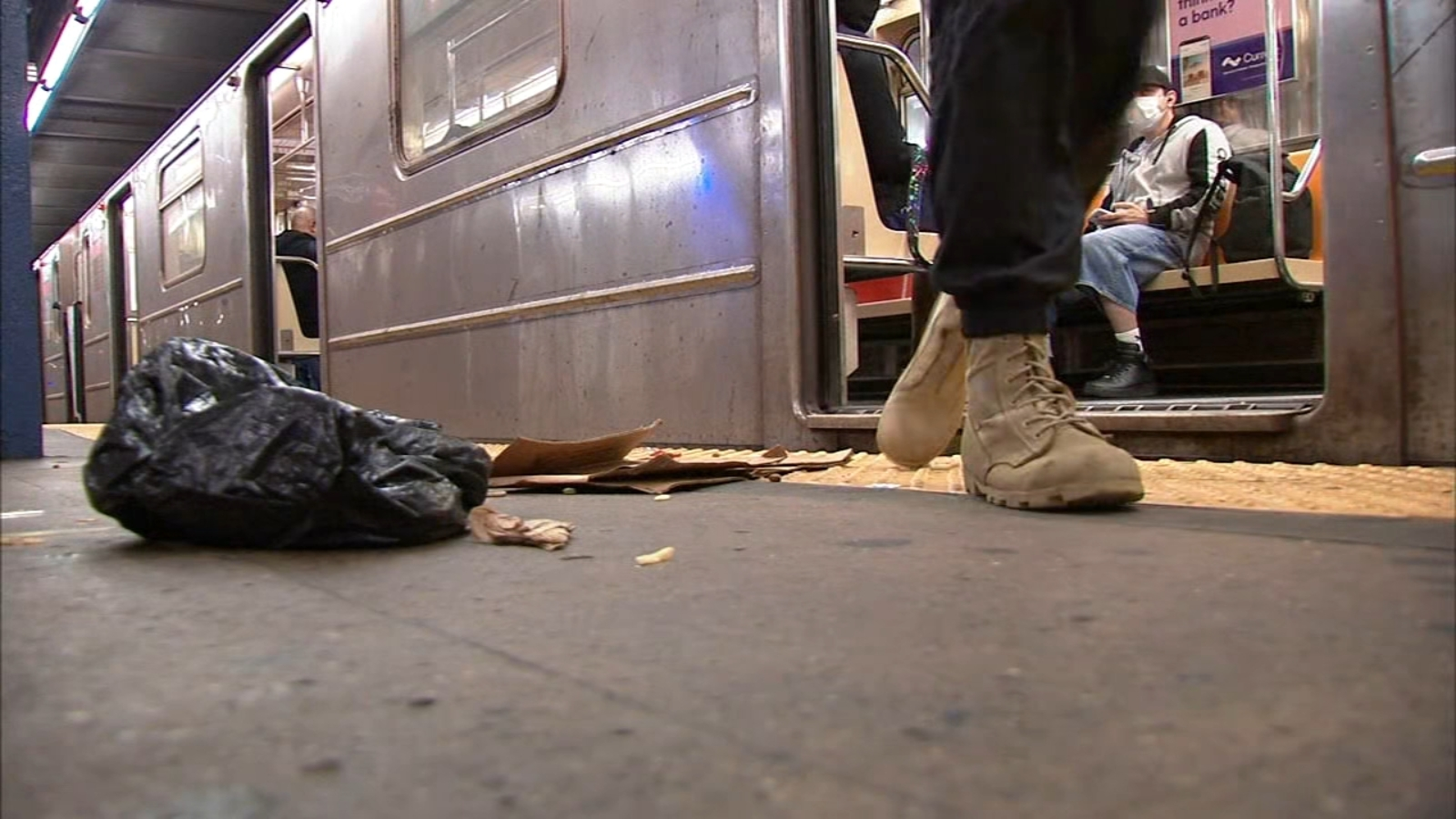 Reports of filthy NYC subway cars further degrade mass transit conditions