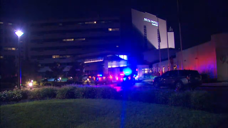Multiple people shot at hotel in Woodbridge, New Jersey
