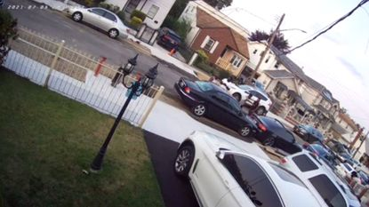Off-duty NYPD cop pulls gun, threatens to 'blow up' neighbor's BMW and home in parking spot quarrel