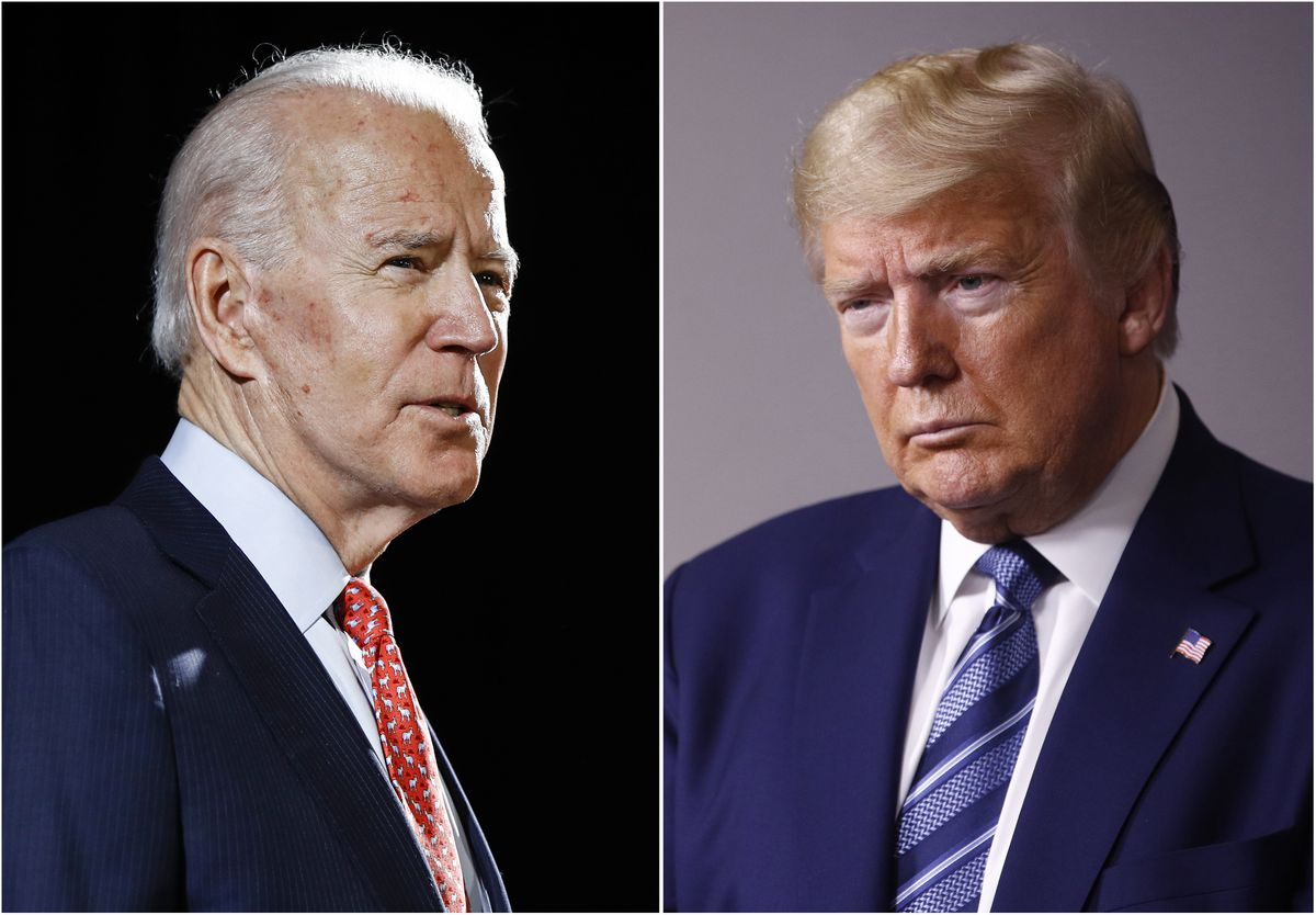 Donald Trump calls for President Biden to resign