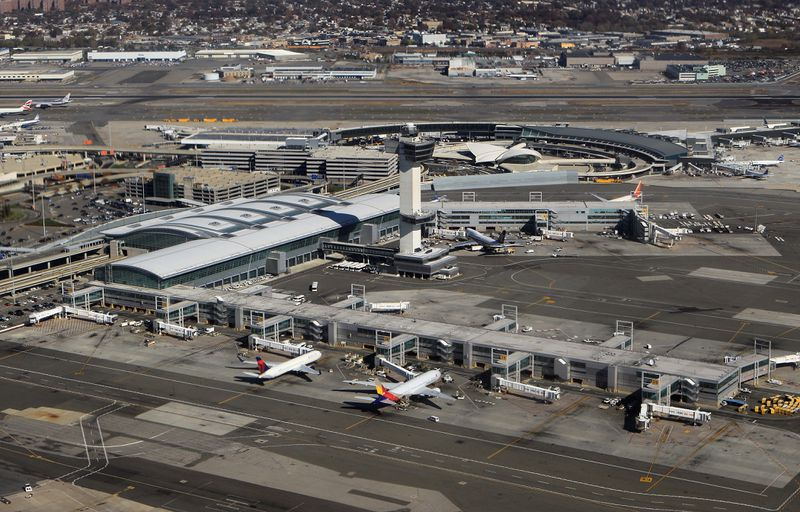 U.S. officials prep cargo building at JFK Airport to process, house Afghan refugees