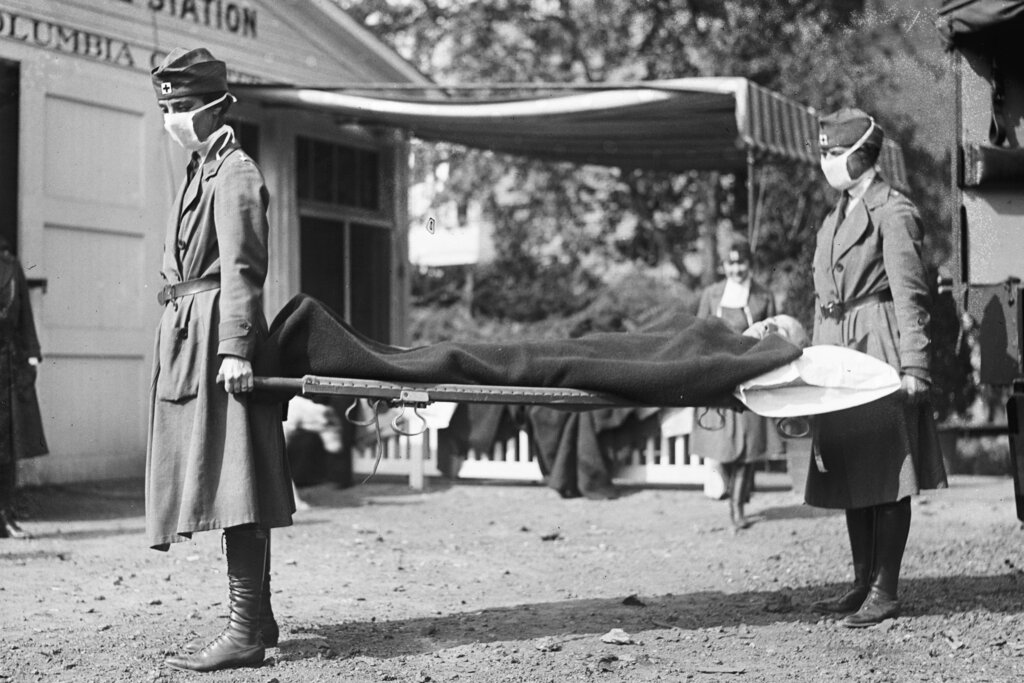 COVID deaths in the U.S. surpass those of the 1918-19 Spanish Flu